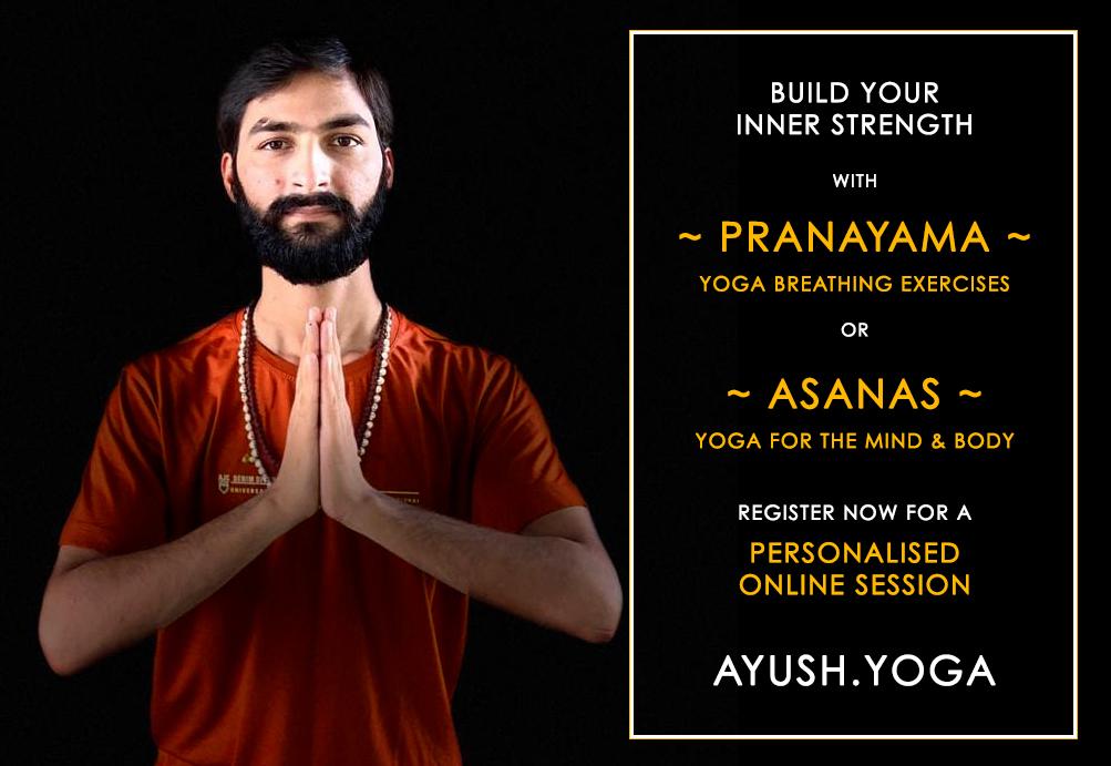 Online Yoga and Pranayam Class